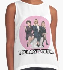 you dont own me Contrast Tank