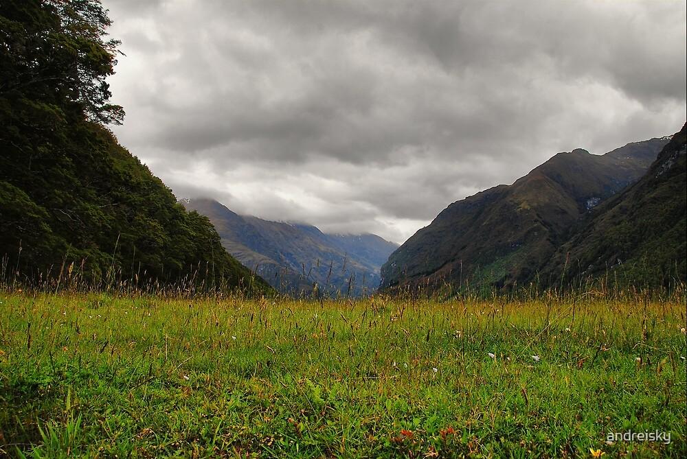 Matukituki valley by andreisky