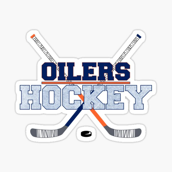Hockey Oilers Sticker