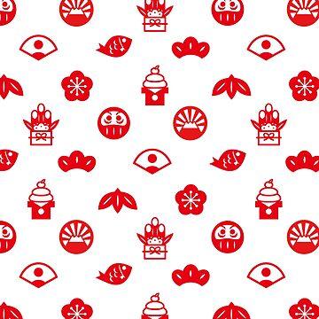 Japan symbol pattern by RaionKeiji