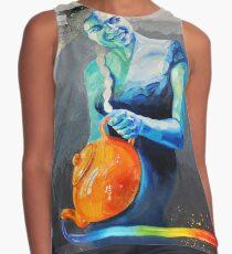 Heal with Rainbow Tea (self portrait) Contrast Tank