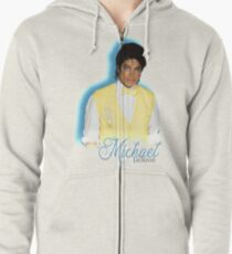 Classic Michael Jackson Zipped Hoodie