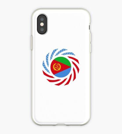 Eritrean American Multinational Patriot Flag Series iPhone Case