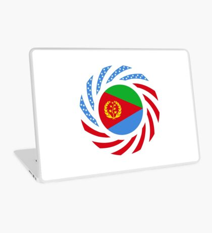 Eritrean American Multinational Patriot Flag Series Laptop Skin