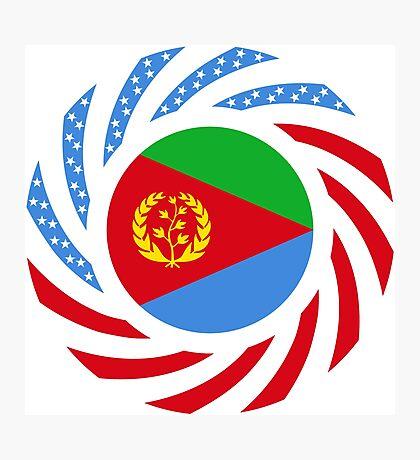 Eritrean American Multinational Patriot Flag Series Photographic Print