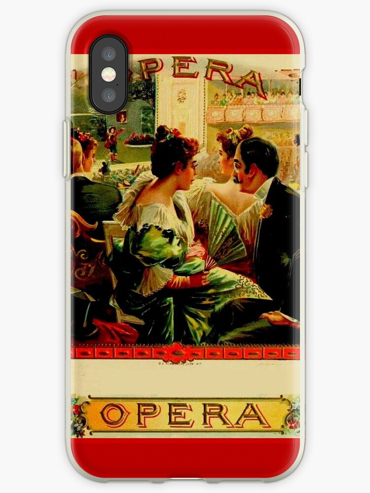 OPERA : Vintage Cuban Cigar Adverising Print by posterbobs