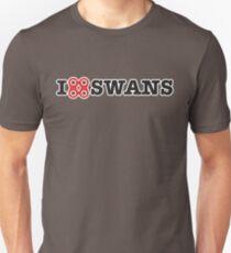 I Heart Swans (Dark Tee) T-Shirt