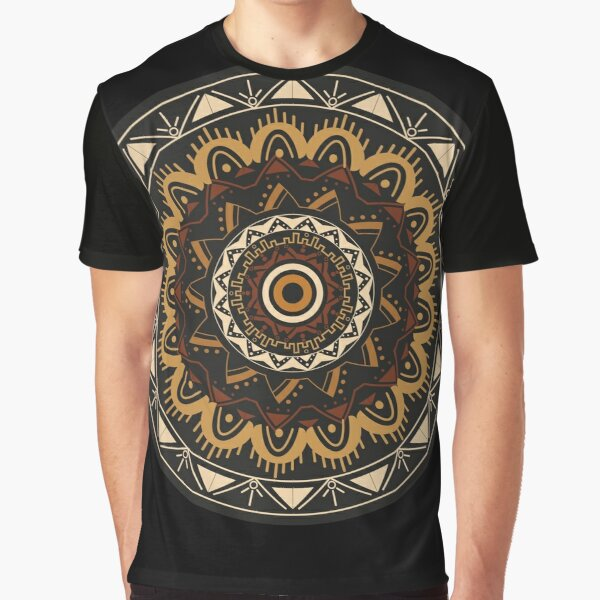 Mandala nights Camiseta gráfica