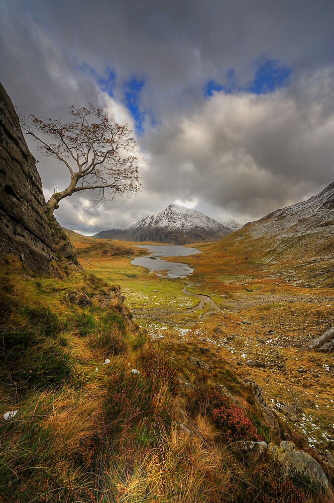 Llyn Idwal, Snowdonia National Park, North Wales by Owen Burke