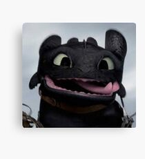 cute toothless Canvas Print