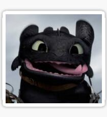 cute toothless Sticker