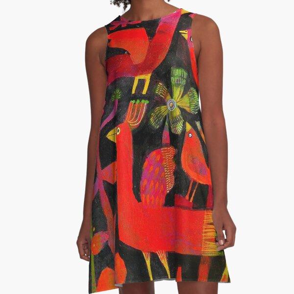 Summer greens A-Line Dress