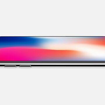 apple - iphone x - iphone - steve jobs by SirMooh