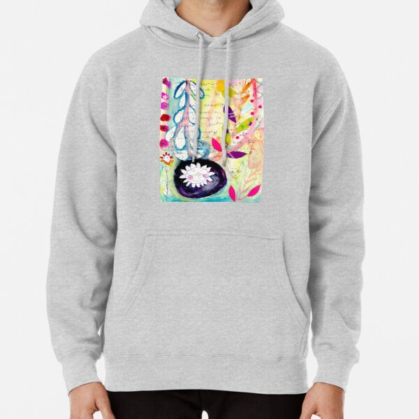 Color Venting Pullover Hoodie
