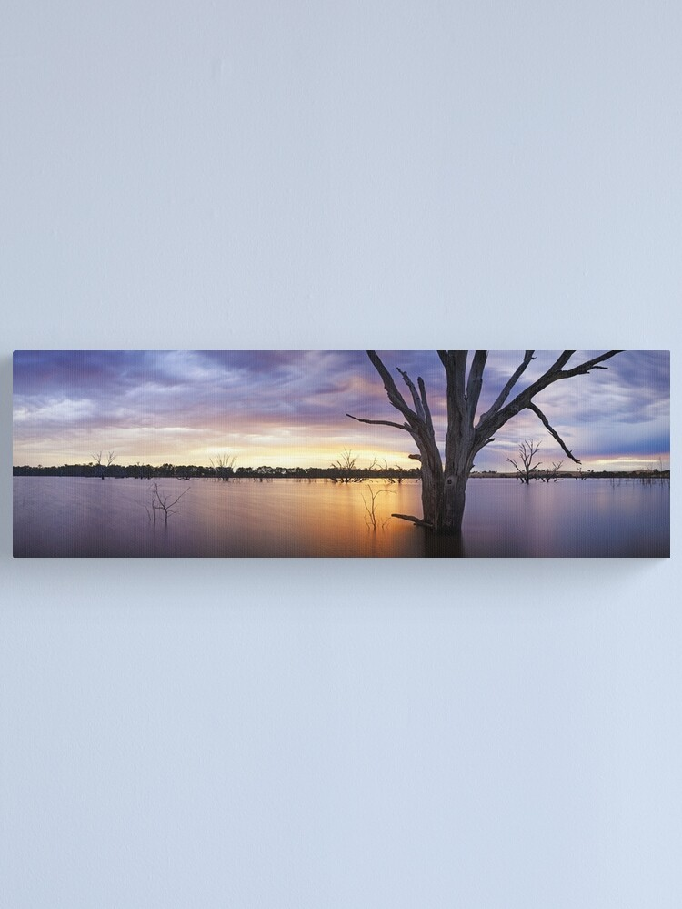 Alternate view of Lake Eppalock, Heathcote, Victoria, Australia Canvas Print