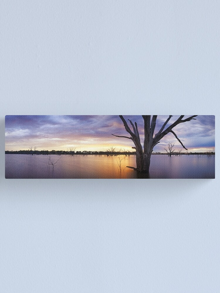 Alternate view of Lake Eppalock, Heathcote, Victoria, Australia Canvas Print