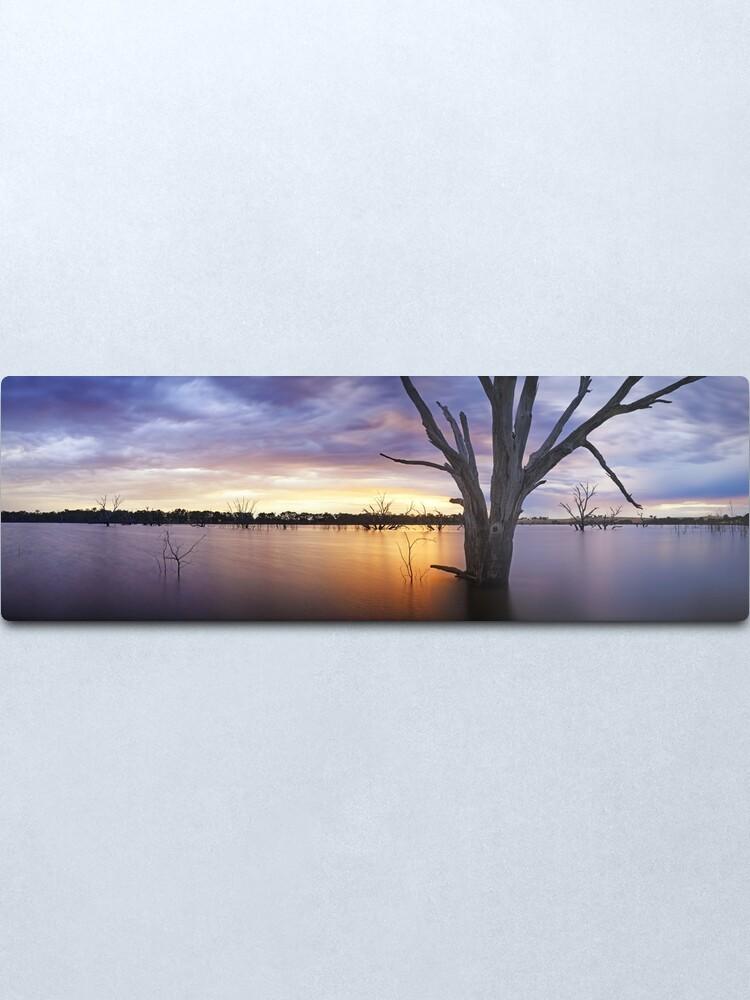 Alternate view of Lake Eppalock, Heathcote, Victoria, Australia Metal Print