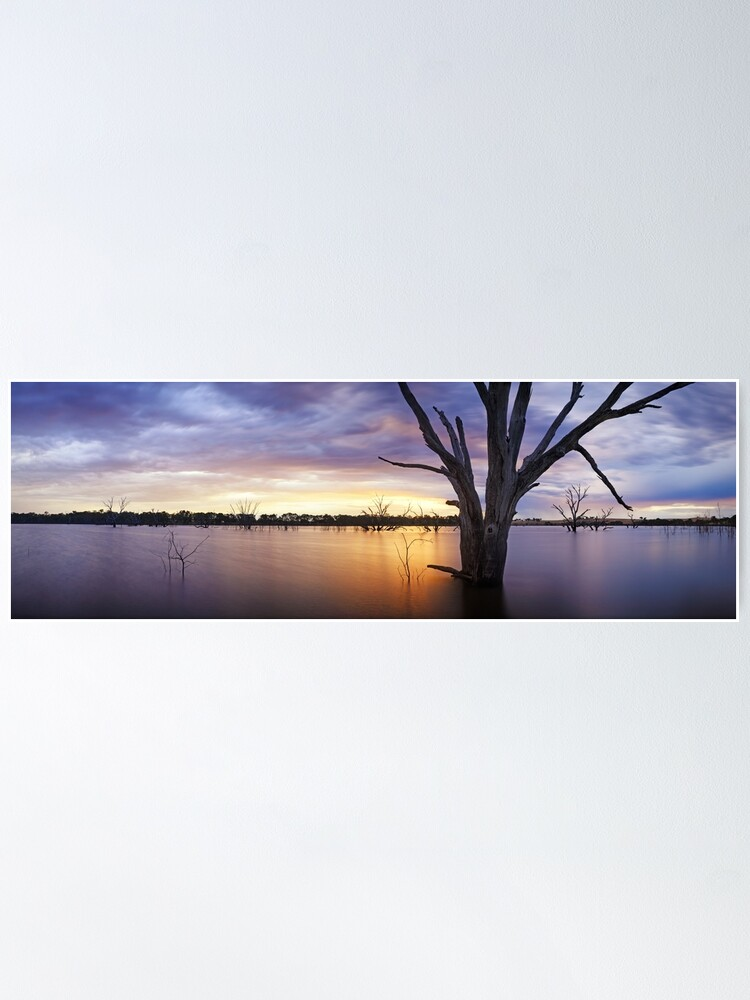 Alternate view of Lake Eppalock, Heathcote, Victoria, Australia Poster