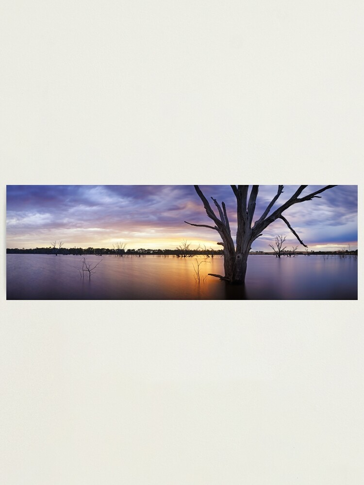 Alternate view of Lake Eppalock, Heathcote, Victoria, Australia Photographic Print