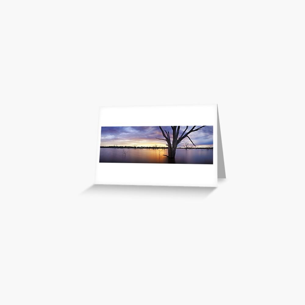 Lake Eppalock, Heathcote, Victoria, Australia Greeting Card