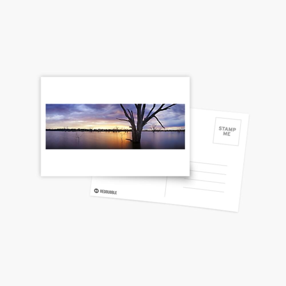 Lake Eppalock, Heathcote, Victoria, Australia Postcard