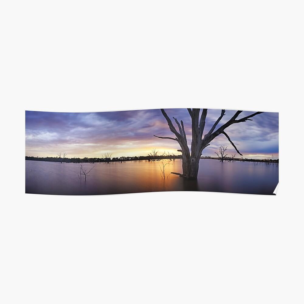 Lake Eppalock, Heathcote, Victoria, Australia Poster