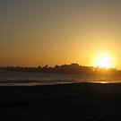 seacliff sunset by Nicole M. Spaulding