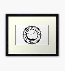 Atherton Hough Stickball League Framed Print