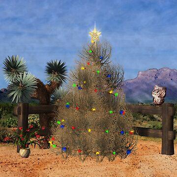 Christmas In The Desert by 2HivelysArt