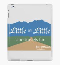 Little by Little One Travels Far iPad Case/Skin