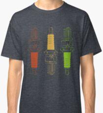 Spark Plugs Traffic Light Colours Classic T-Shirt