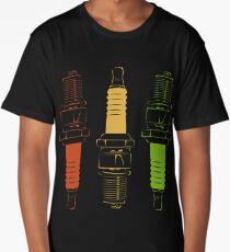 Spark Plugs Traffic Light Colours Long T-Shirt