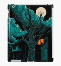 horror tree iPad Case/Skin