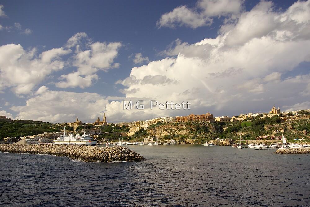 Mgarr harbour 1, Gozo by M G  Pettett