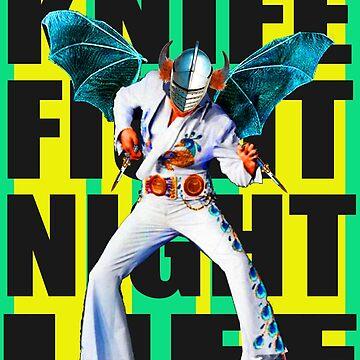 KNIFE FIGHT NIGHT LIFE by zandozan