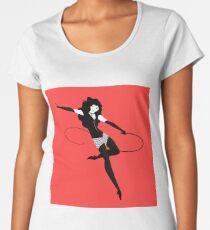 fetish female character with whip Women's Premium T-Shirt