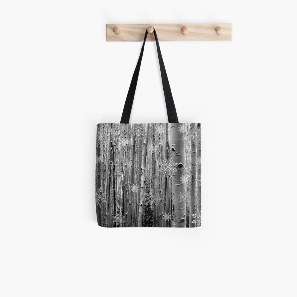 Aspens in the Snow Tote Bag