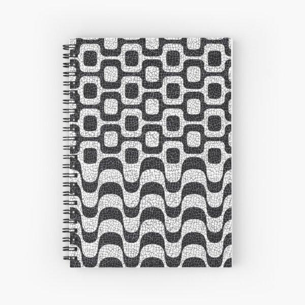 Copacabana / Ipanema Boardwalk Spiral Notebook