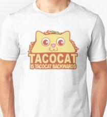 Tacocat Backwards Unisex T-Shirt