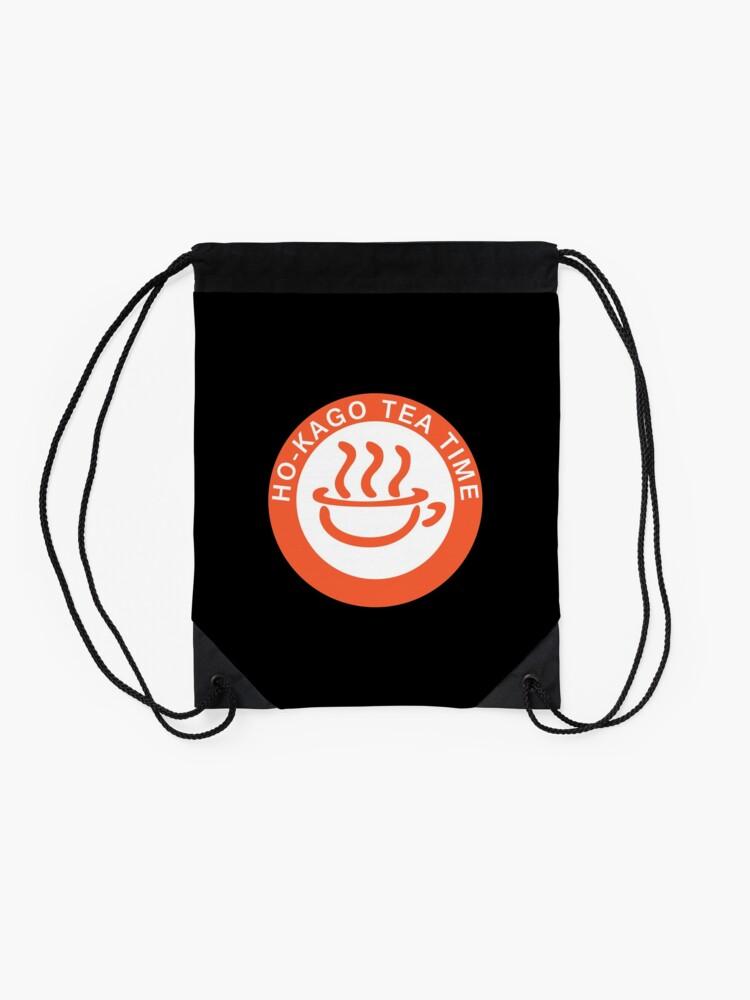 Alternate view of K-ON! - Hōkago Tea Time (Alt Logo) Drawstring Bag
