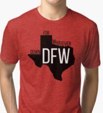 DFW, TX Tri-blend T-Shirt