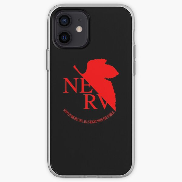 Logotipo de NERV Funda blanda para iPhone