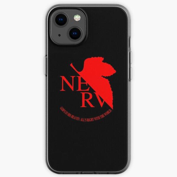 NERV Logo iPhone Soft Case