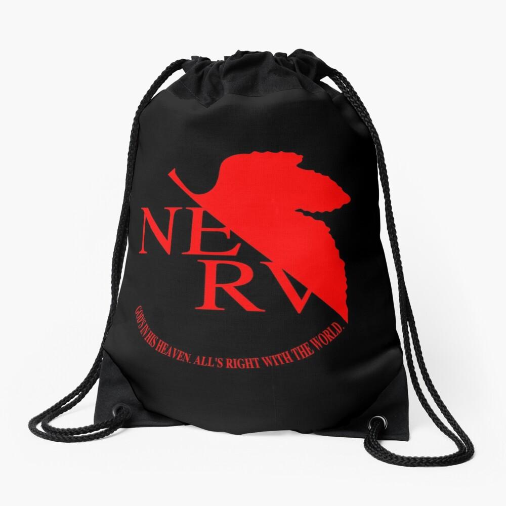 NERV Logo Drawstring Bag
