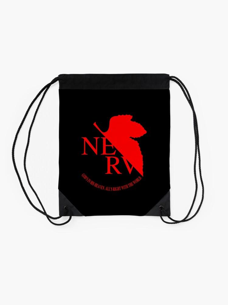 Alternate view of NERV Logo Drawstring Bag