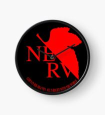 NERV Logo Clock