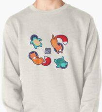 Space Animals Sticker Set 1 Pullover Sweatshirt