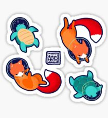 Space Animals Sticker Set 1 Sticker