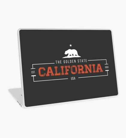 California American State Design Laptop Skin
