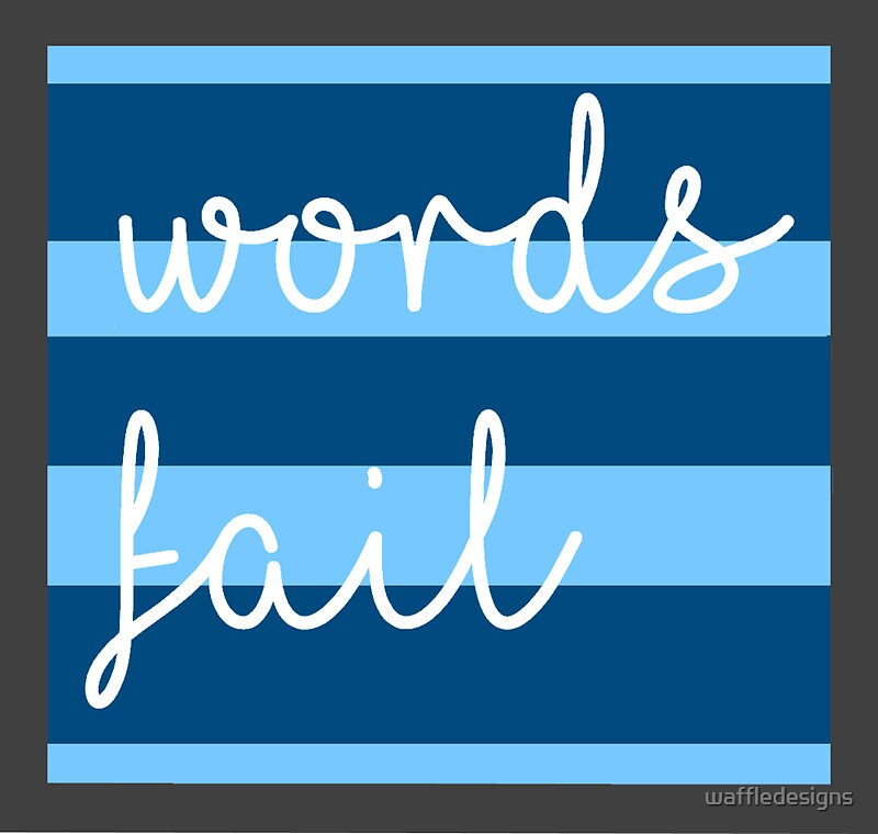 Words fail dear evan hansen inspired by waffledesigns